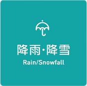 降雨・降雪 Rain/Snowfall